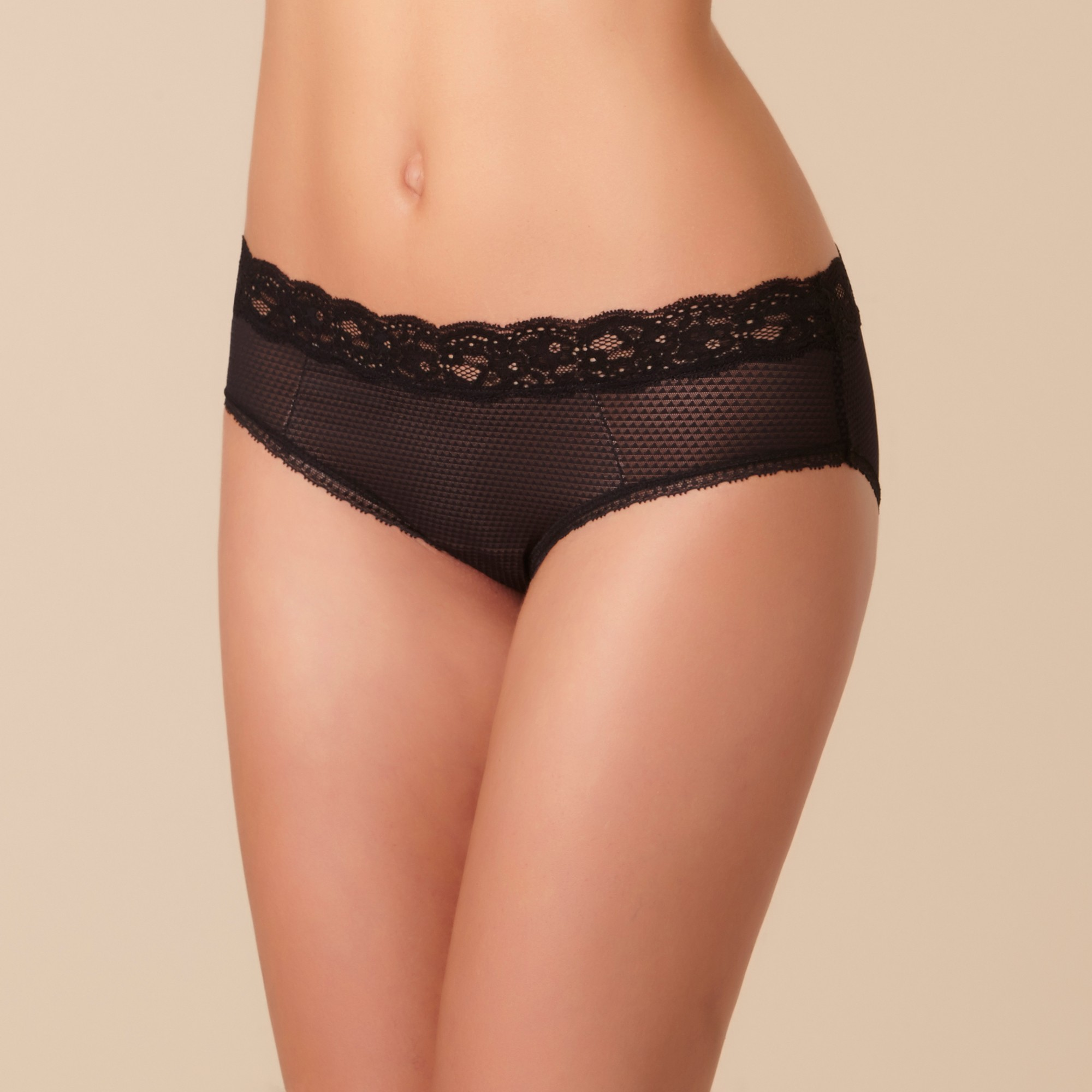 "Shorty - Passionata ""Brooklyn"" P57040 - Noir 011"