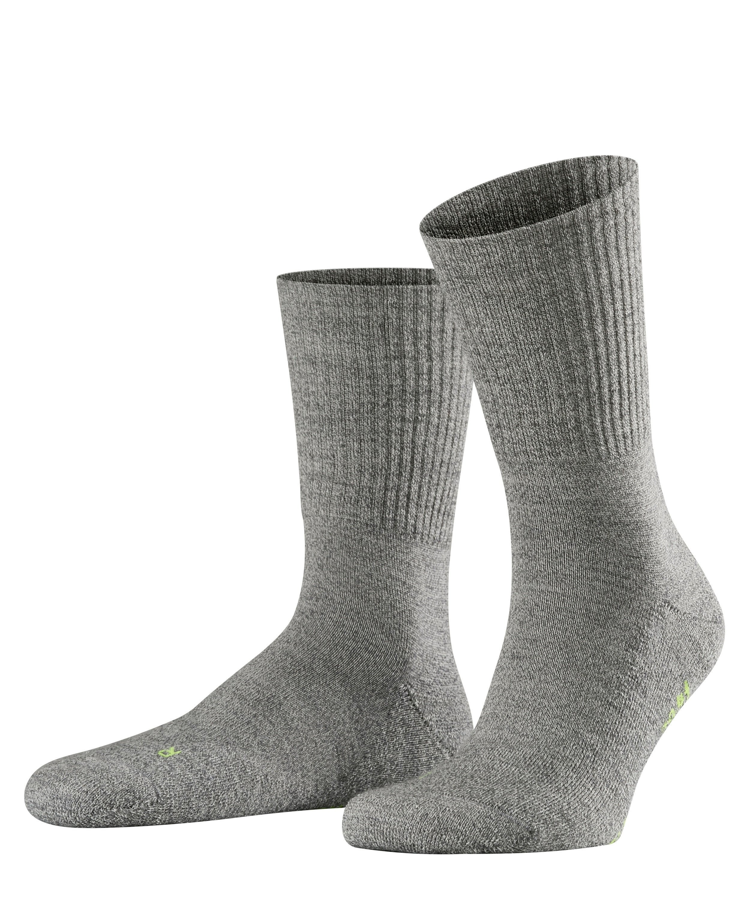 Chaussette de sport Unisexe - 66% Laine - Falke Men Walkie Light 16486 Gris Graphite Mel 3060