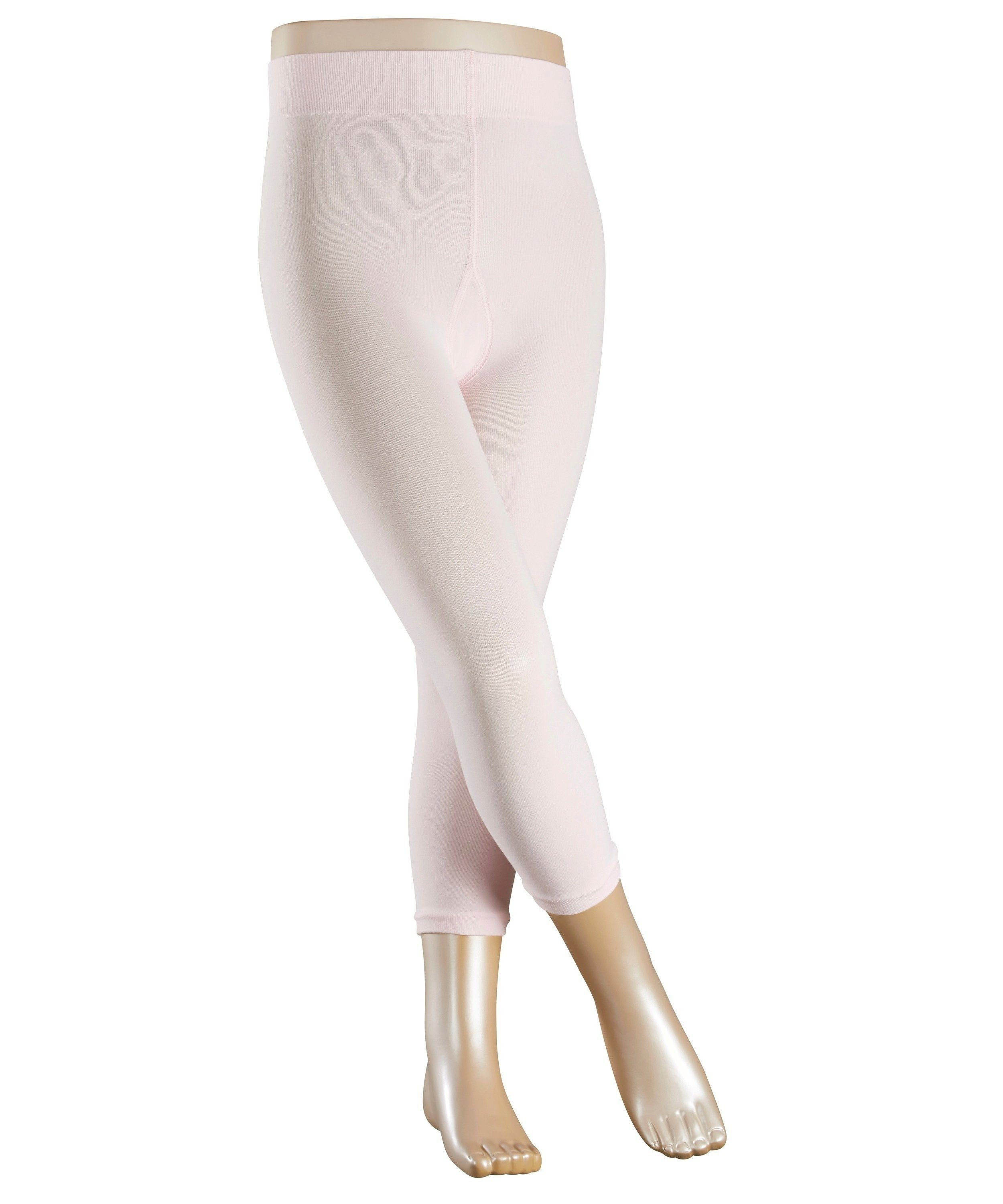 Legging stretch Enfant - Coton & Polyamide - Falke Children Cotton Touch 13830 Rose Powder 8900