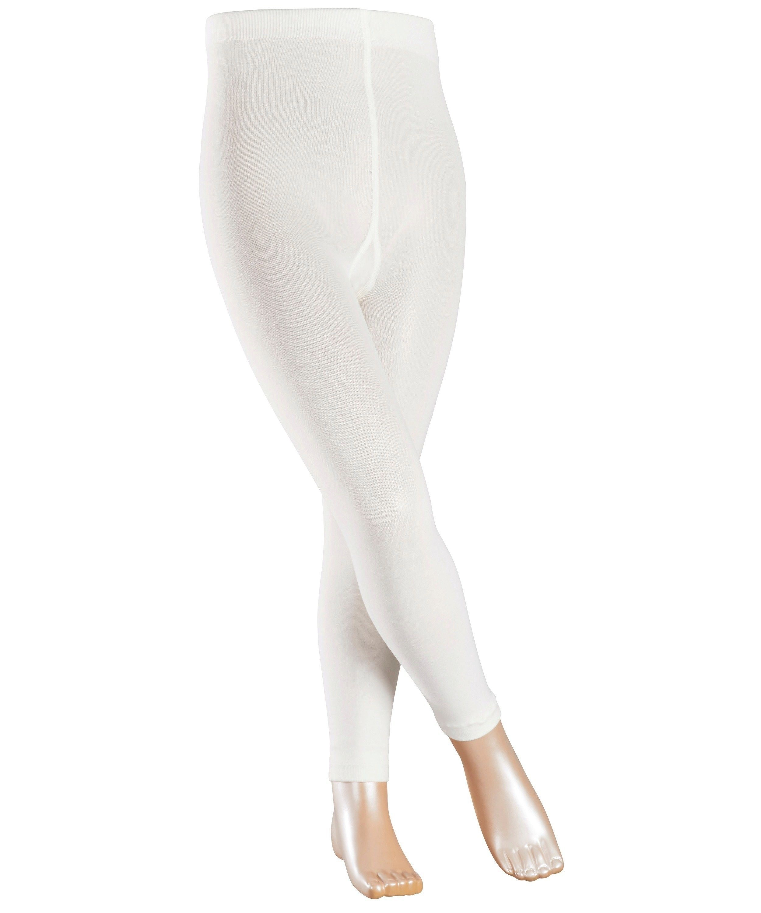 Legging stretch Enfant - Coton & Polyamide - Falke Children Cotton Touch 13830 Ecru Off-White 2040