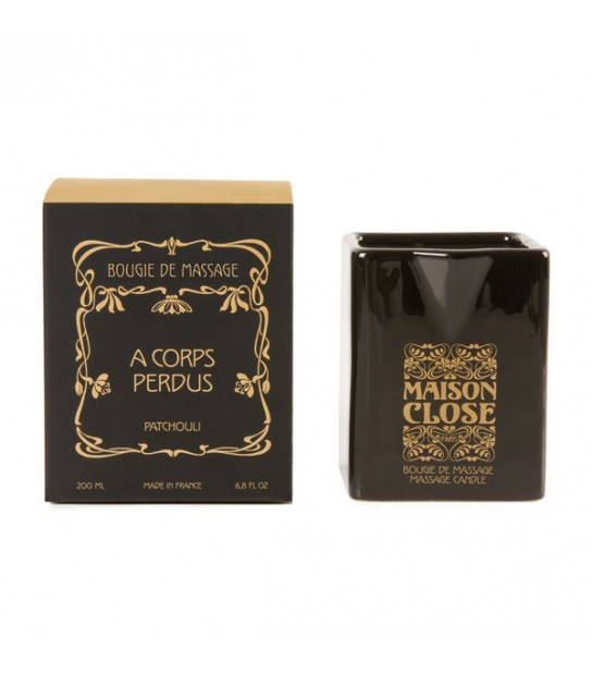 "Bougie de Massage - Maison Close ""A corps perdu"" - Patchouli"