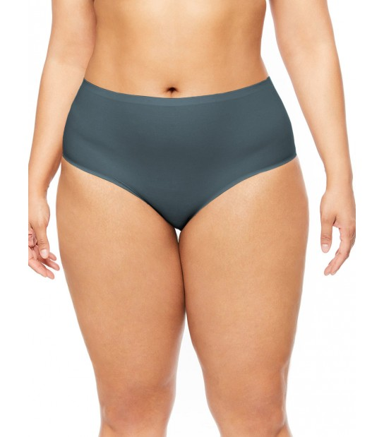 "Culotte invisible - XL grande taille - Chantelle ""Soft Stretch XL"" CH11370 - Abyss 0PN"