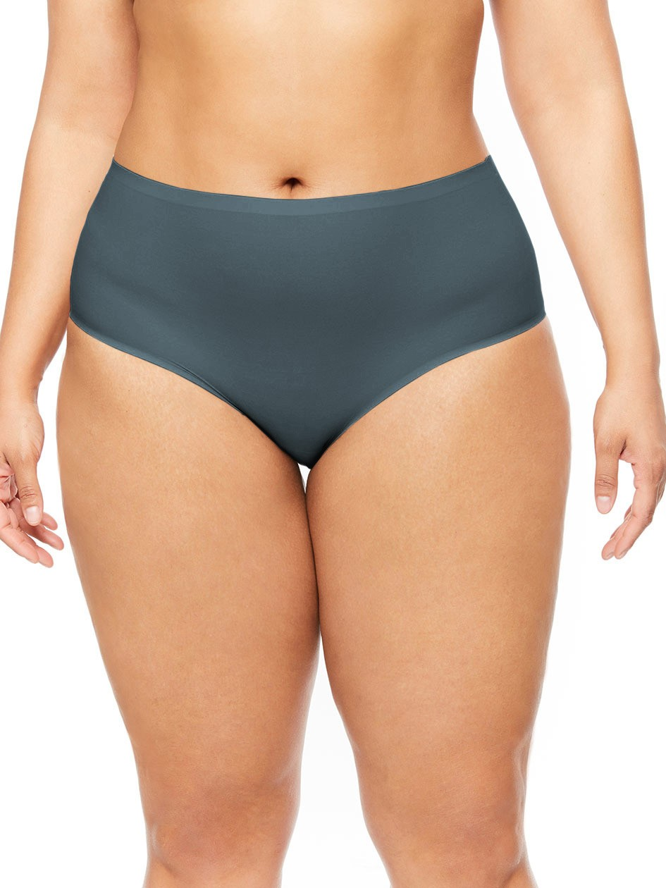 """Culotte invisible - XL grande taille - Chantelle """"Soft Stretch XL"""" CH11370 - Abyss 0PN"""
