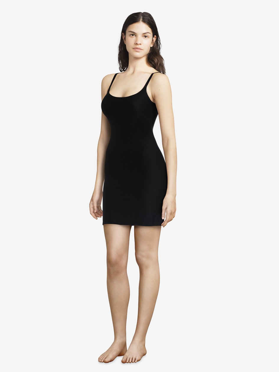 """Robe invisible - Chantelle """"Soft Stretch"""" CH10610 - Noir 011"""
