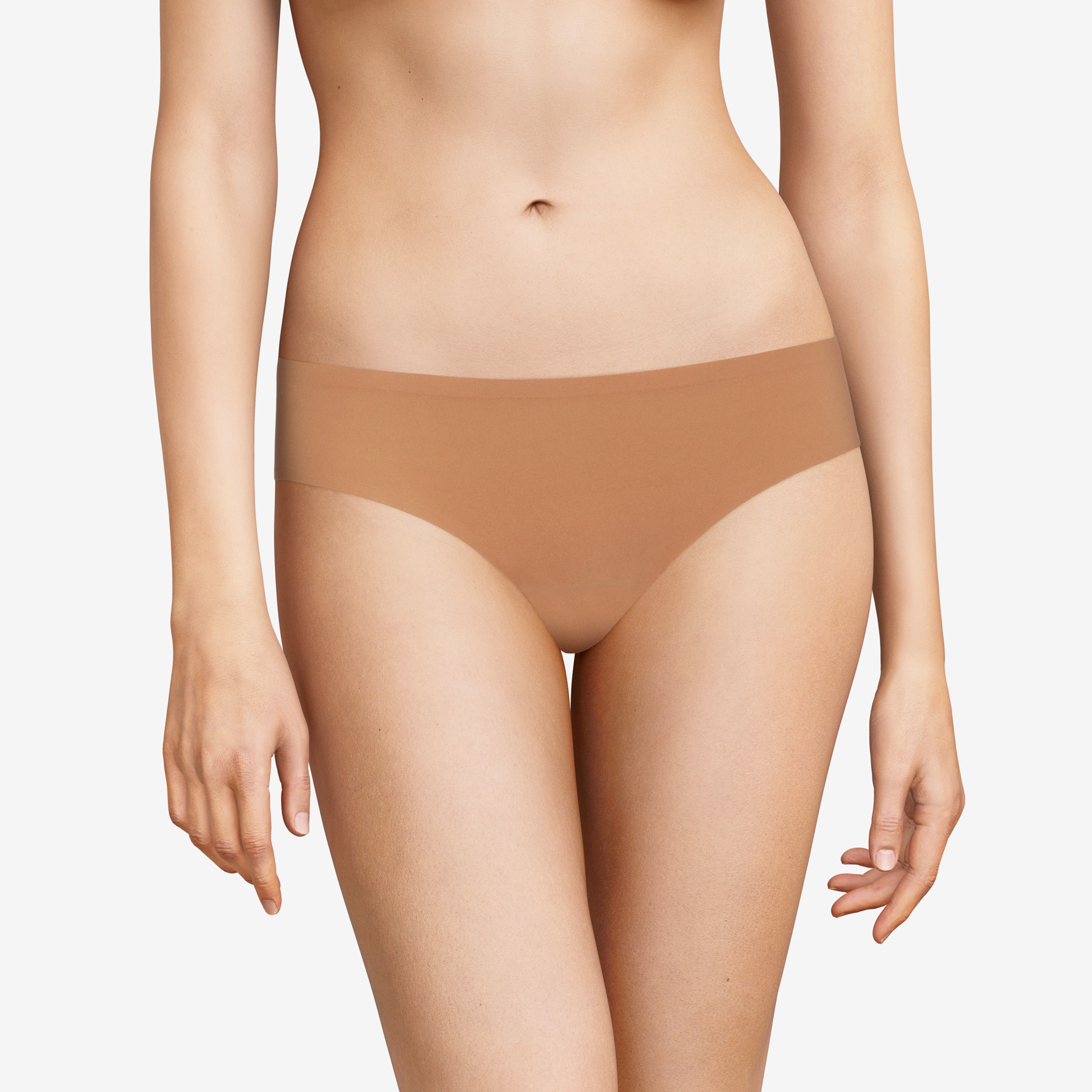 "Slip invisible taille basse - Chantelle ""Soft Stretch"" C26430 - Santal 0EX"