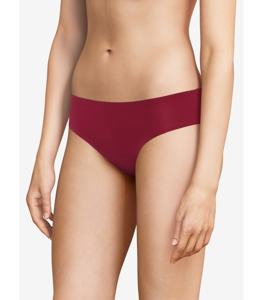 "Slip invisible taille basse - Chantelle ""Soft Stretch"" C26430 - Grenade 030"