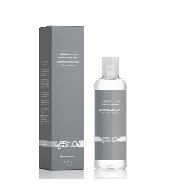 """Lubrifiant silicone consistance épaisse - Vegan - Yes For Love """"Ultimate Lubricant"""" - Thick consistency"""